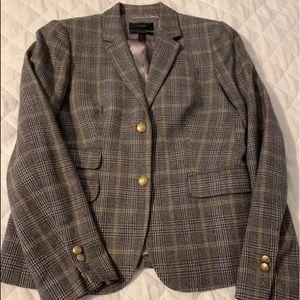 J Crew plaid schoolboy blazer
